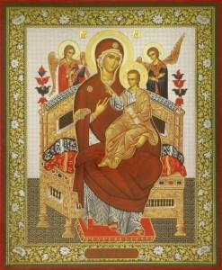 """Икона Божией Матери """"Всецарица"""""""