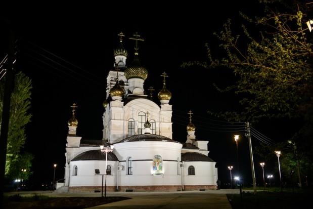 Приход храма пророка Илии г.Волгодонска встретил Светлое Христово Воскресение