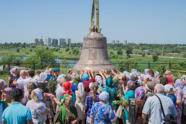 Праздник Святой Троицы, Божественная литургия. Волгодонск. 19.06.2016 г.
