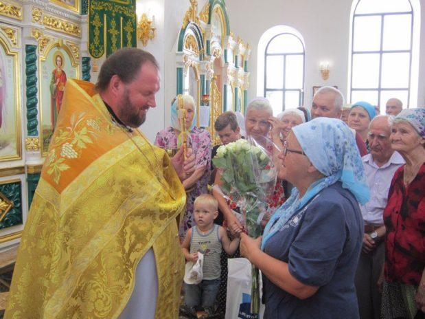 4 августа свое 57-летие отмечает настоятель Свято-Ильинского прихода  протоиерей Борис Федоров