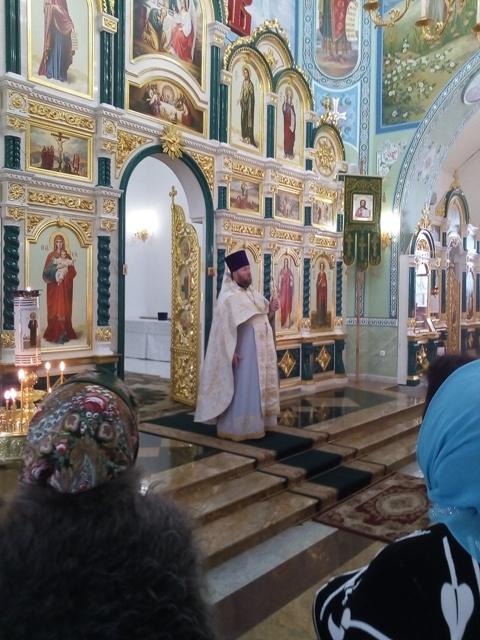 Праздник Крещения Господня состоялся в Свято-Троицком храме г. Волгодонска