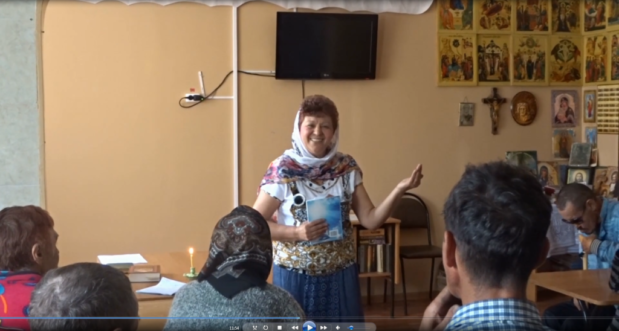 В ГБУСОН РО «КСЦ по оказанию помощи лицам без определенного места жительства г. Волгодонска» проводятся беседы, и видео-проекты выкладываются в Ютюб: «О Вечном. Беседы Марии»