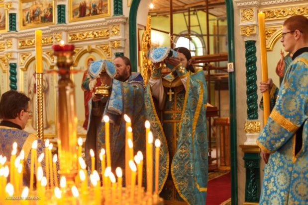 4 ноября 2019 года, в праздник Казанской иконы Божией Матери, в Свято-Троицком храме состоялось торжественное Богослужение.