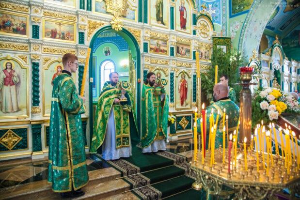 Праздник Святой Троицы, Божественная литургия. Волгодонск 20 июня 2021 года